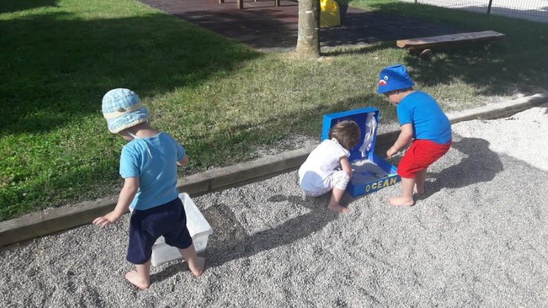 Biserčki – čutna pot na igrišču