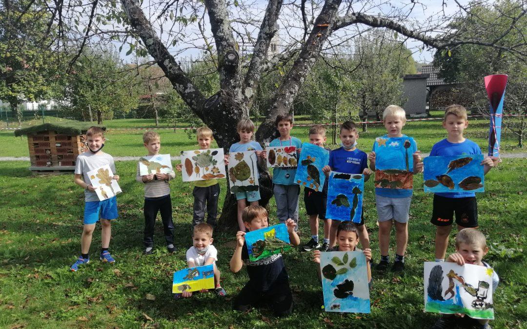 Ustvarjanje drugošolcev v tednu otroka